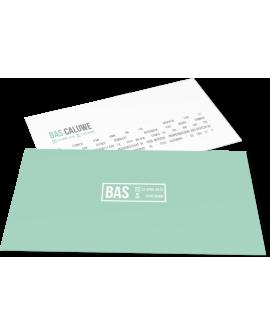 "Geboortekaartje ""Bas"""