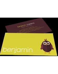 """Geboortekaartje """"Benjamin"""""""