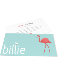 """Geboortekaartje """"Billie"""""""