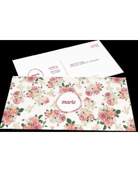"Geboortekaartje ""Marie"""